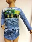 Shirt-Trekker-(JOHN-DEERE)-Jongens-Lichtblauw