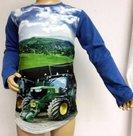 Shirt-Trekker-(JOHN-DEERE)-Jongens-blauw
