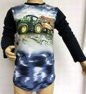 Shirt-Trekker-(JOHN-DEERE)-Jongens-Donkerblauw
